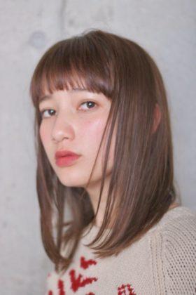 艶髪ストレートミディアム