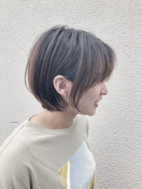 【CCCCCCC/鈴木孝治】大人かわいい耳掛けひし形ショート◎